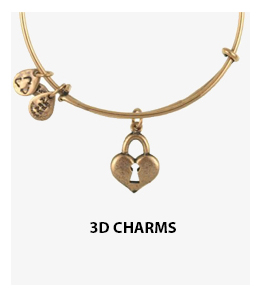 Alex and Ani 3D Charm Bangles