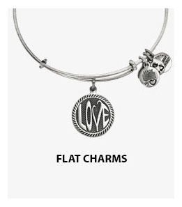 Alex and Ani Flat Charm Bangles