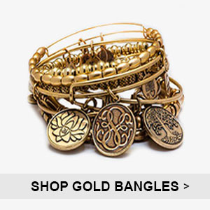 Alex and Ani Gold Bangles | Simply Jewels
