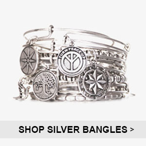 Alex and Ani Silver Bangles | Simply Jewels